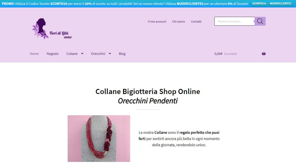 Fiori di Lillà fa parte dei Negozi Online che Accettano Bitcoin