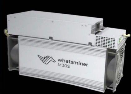 MicroBT WhatsMiner M30S